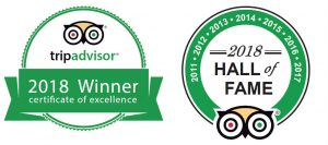 Segway Electric Tour Company TripAdvisor-Certificate Of Excellence and Hall Of Fame 2018